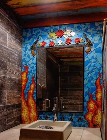 Идеи использования мозаики в интерьере и ландшафтном дизайне
