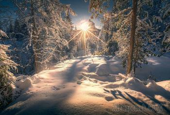 Снег и солнце… (Стих)