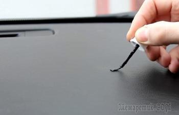 6 способов удалить царапины с пластиковых поверхностей в автомобиле