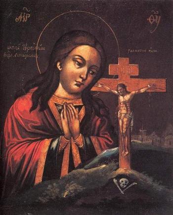 Ахтырская икона Божией Матери: описание, фото