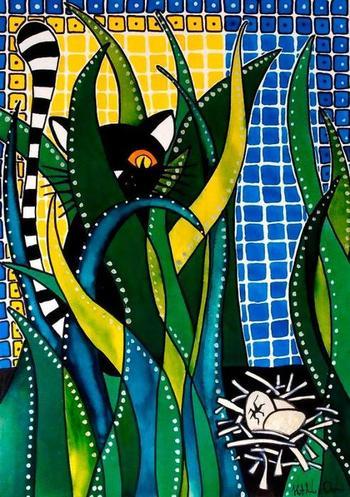 Муза Доры Хатази Мендес - кошка Ребека в разных образах