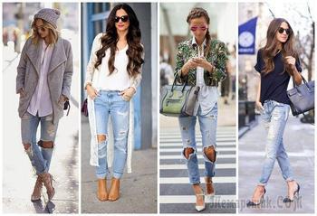 Женские джинсы: тенденции и новинки 2018