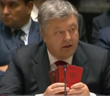 Порошенко в ООН всему миру показал доказательства участия России в войне на Донбассе