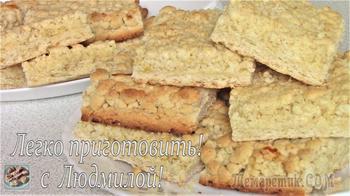 Лимонное песочное печенье. Постная (вегетарианская) выпечка.