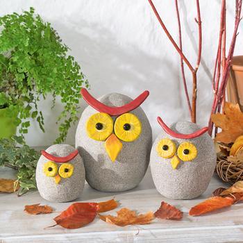 Декоративные совы своими руками