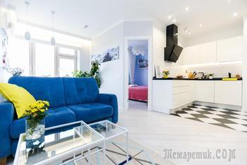Скандинавская квартира 40 м²