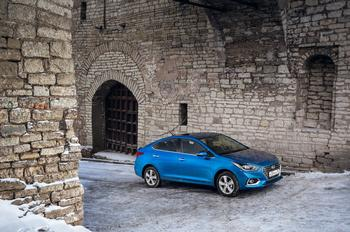Клад Плюшкина: тест Hyundai Solaris