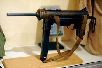 Глушитель OSS для пистолетов-пулемётов M3 (США)