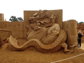Эпичные скульптуры из песка, достойные места в музее