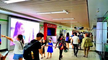 Китай 2018. 20.Шанхай. Самое большое метро в мире