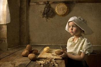Детские фотопортреты в стиле живописи 18-го века