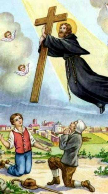 Левитация в христианстве: полёты наяву