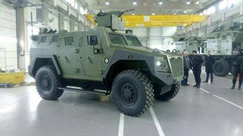 Бронеавтомобиль BOV M16 Miloš (Сербия)