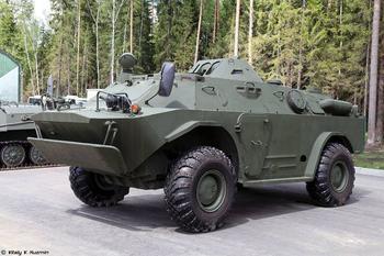 Родом из шестидесятых, как модернизируют БРДМ-2