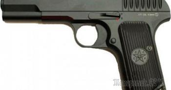 Пневматический пистолет KWC TT-33 — простой и надежный