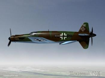 Do-335 «Pfeil» – самый быстрый поршневой самолет в истории