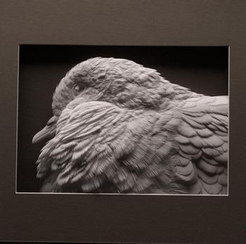 Бумажные скульптуры от Келвина Николлса