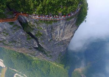Завораживающая красота Китая: взгляд с высоты птичьего полёта