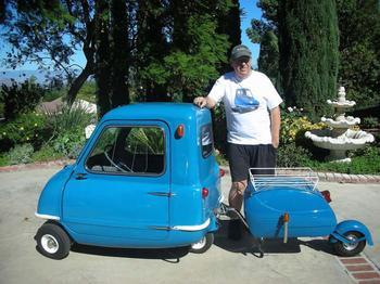 Чудеса техники – самая маленькая машина в мире. От серийных до самодельных автомобилей