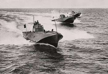 Оружие Второй мировой, торпедные катера
