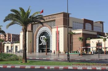 Марокко. Марракеш. Новый вокзал.