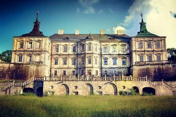 Подгорецкий замок, в котором живет дух убитой женщины