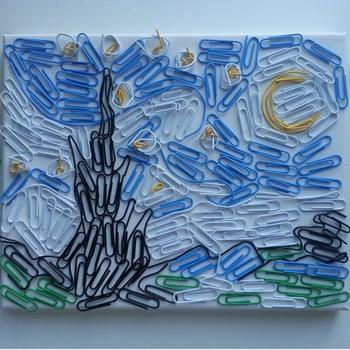 Художник воссоздаёт знаменитые картины с помощью повседневных вещей