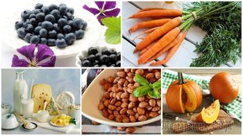 10 самых нужных витаминов для глаз и в каких продуктах они содержатся