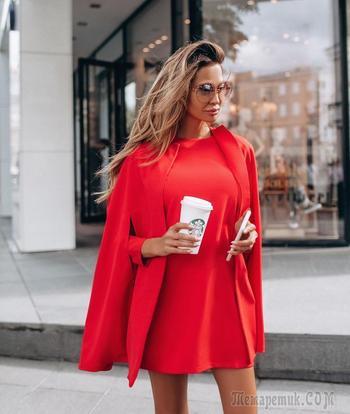 30 модных и эксцентричных осенних образов в красном цвете: почувствуй свою страсть
