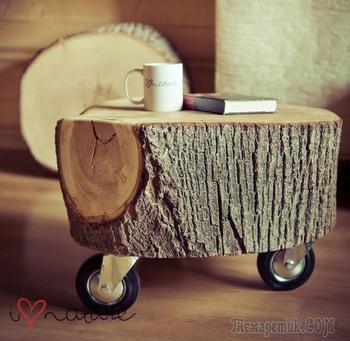 50 чудных проекта, которые можно сделать из древесины
