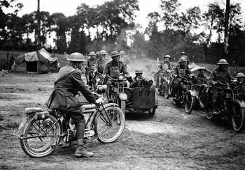 Самые необычные боевые мотоциклы в истории