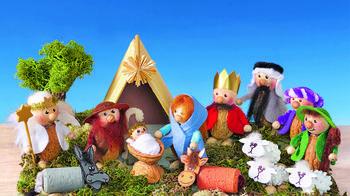 Рождественский декор «Однажды в Вифлееме...»