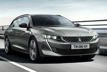 Peugeot 508 SW 2019 – новый универсал Пежо 508 СВ