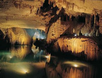 Фантастические пещеры Ливана