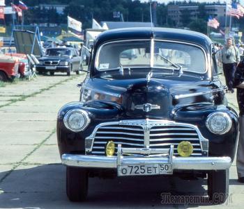 Иномарки в СССР: машины из-за «железного занавеса»