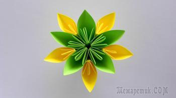 Мастерим простой, но красивый цветочек из бумаги