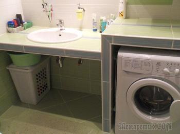 """Ванная: """"Легко, свежо, ненавязчиво"""""""