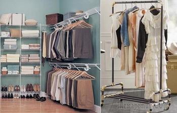 Организовываем свой гардероб правильно: лучшие идеи