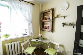 Молодая семья своими руками преобразила старую квартиру, затратив меньше $4000