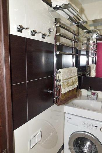 Моя ванная комната цвета беж и венге