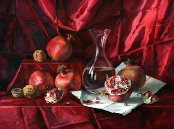 Великолепные акварельные натюрморты Елены Базановой