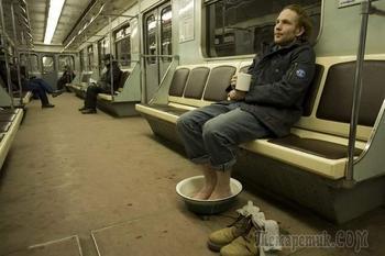 30 доказательств того, что кататься в метро весело