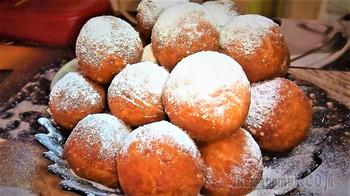 Творожные пончики - мягкие и воздушные