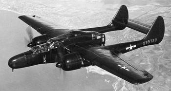 Боевые самолёты, ночные истребители