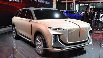 Hongqi E115: новый китайский электрический внедорожник