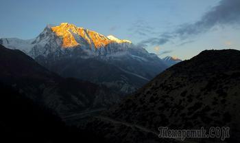 Непал. Гималаи. Трек вокруг Аннапурны. 7. Навал (Нгавал - 3660)  - Брага (3500) - Мананг (3550)
