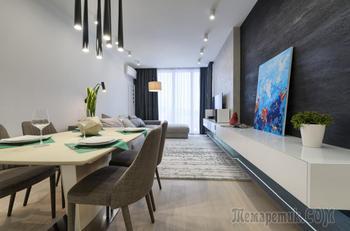Как увеличить метраж квартиры во время ремонта: стильный проект из Киева