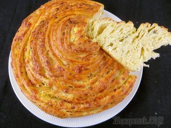 У вас есть творог?! Приготовьте этот вкусный слоеный пирог без особых хлопот!