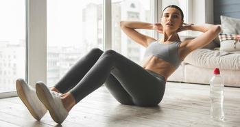 Как накачать и укрепить мышцы пресса дома: примеры эффективных тренировок