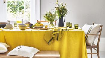 Жёлтый цвет в интерьере дома